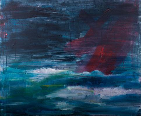 Arctica (2004), Acryl auf Leinwand, 120x100cm
