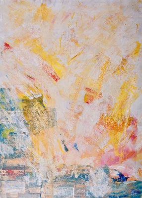Grimaud (2000), Acryl auf Karton, 100x140cm