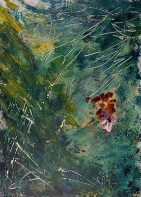 Dschungel (2002), Acryl auf Karton, 100x140cm