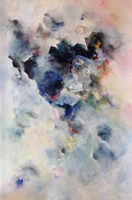 Aufruhr im Vierten Quadrant (2015), Acryl auf Leinwand, ca. 100x150cm