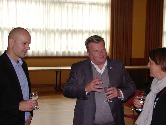 Wilfried Britz, Thomas Schröder und Änne Türke  (Foto: Prüser)