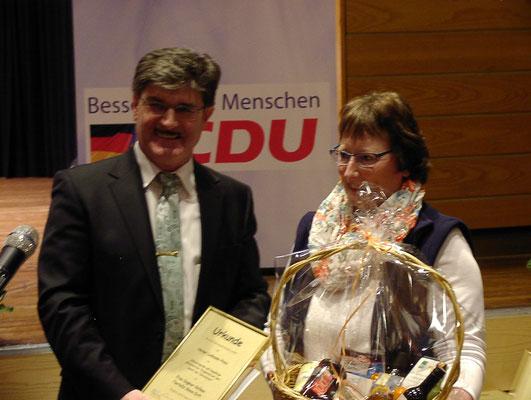Helmut Paul und Dagmar Oetken, Foto: Prüser