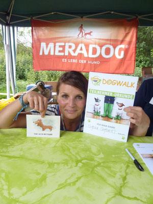 Simone Sombecki war dabei - beim DogWalk 2014 in Bergheim