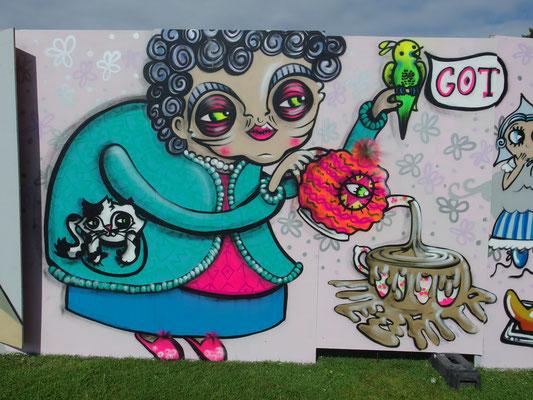 Granny, Upfest, Bristol, 2015