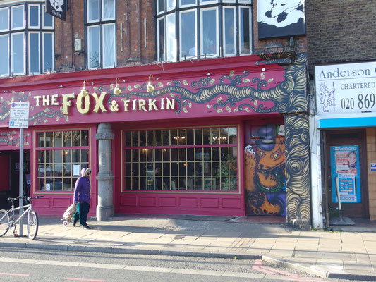 The Fox & Firkin Pub, Lewisham, London, 2015