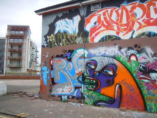 Asbury Garage Monster, Ashton Old Road, Manchester, 2012