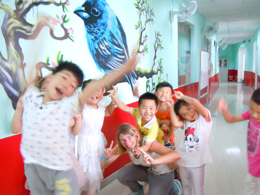 Me & my class The Thunder Cats, CHINA, 2013
