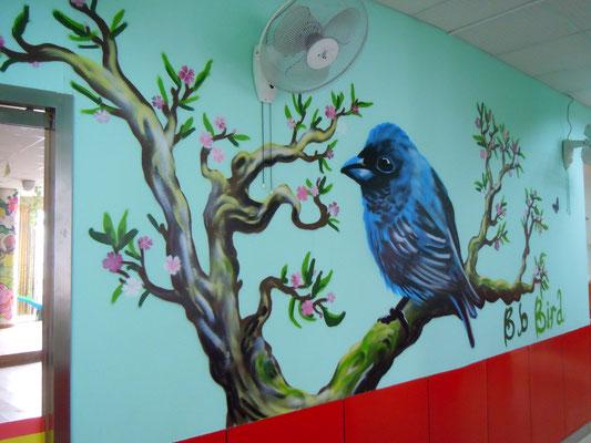 Bird at DD Dragon School, CHINA, 2013