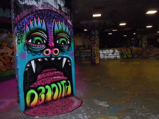 Monster Tongue, South Bank, London, 2010
