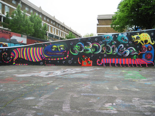 Bubbles, Stockwell Park Estate, London, 2012