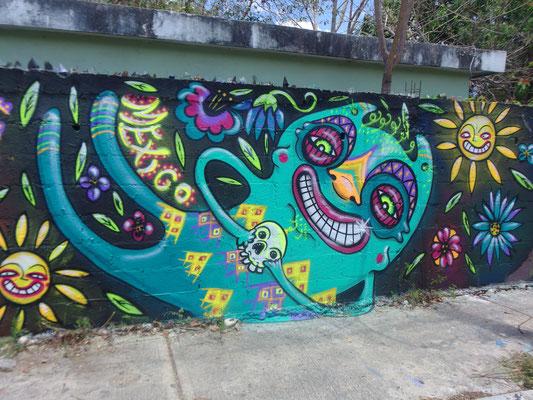 Maya creatures, Merida, Mexico, 2017