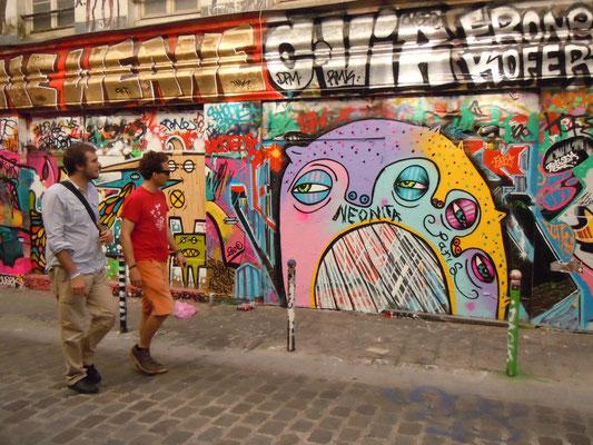 1 Head 3 Faces, Paris, France, 2010