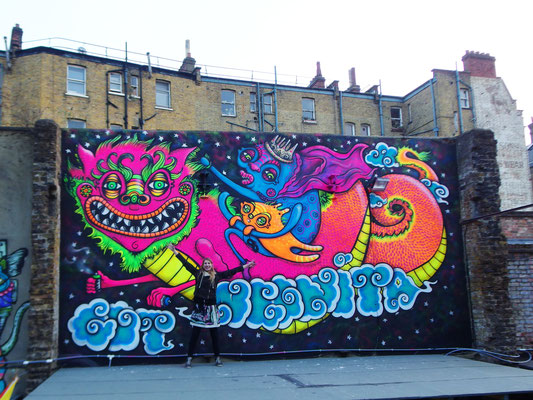 Cosmic Dragon, Brixton, London, 2016