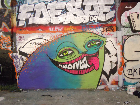 Tounge, Paris, France, 2010
