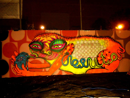 Big Orange, The Westway, Ladbrook Grove, London, 2010