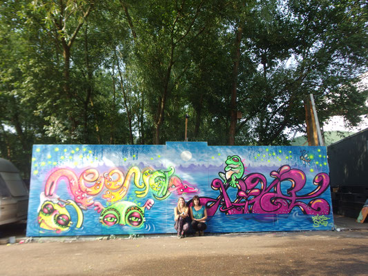 Swap Things, Beer and Paint Festival, ADM Squat Amsterdam, 2016