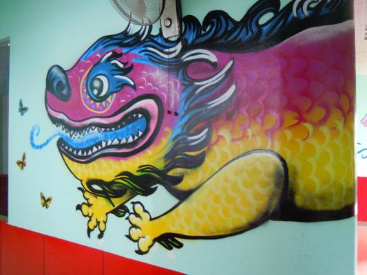 Dragon at DD Dragon School, CHINA, 2013