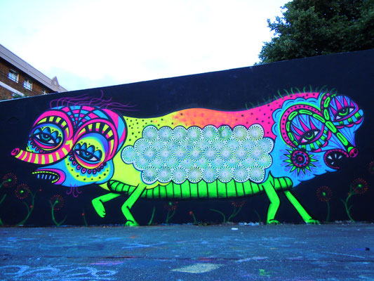 Trippy Creature, Stockwell, London, 2010