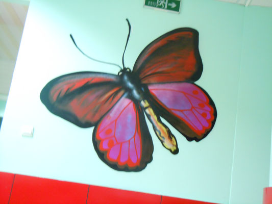 Butterfly at DD Dragon School, CHINA, 2013
