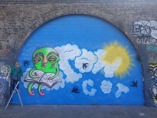 Pow Tribute, Peckham, 2019