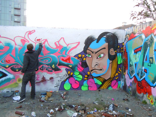 Japanese Warrior with Nase, Greenwich, London, 2012