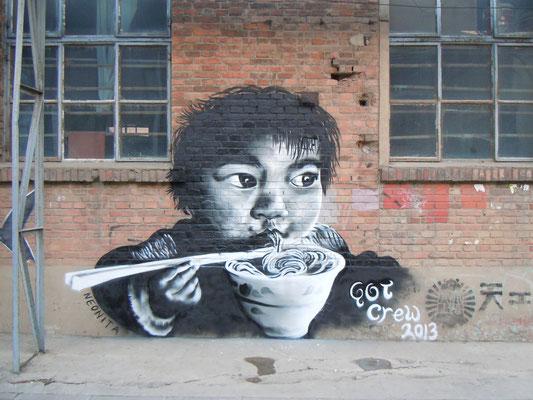 Noodles, 798 Art District, Beijing, 2013