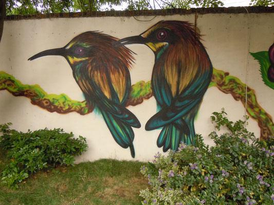 Kingfishers, The Magic Garden, Battersea, London, 2010