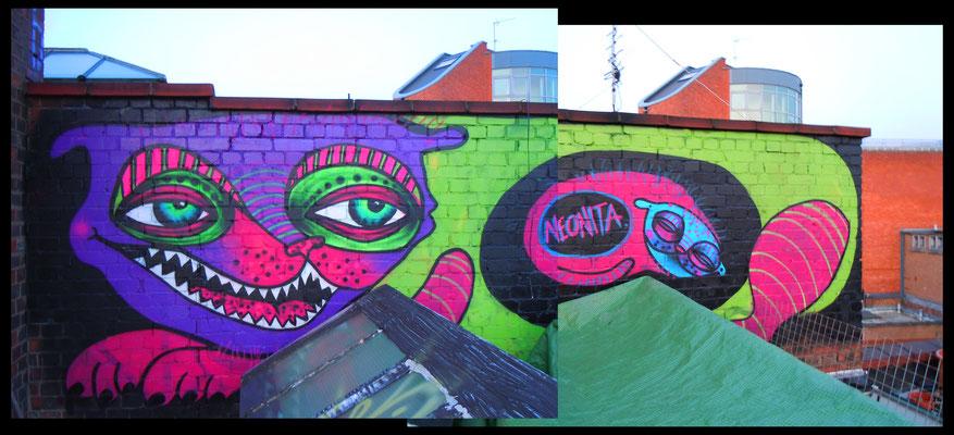 Roof Monster, London, 2012