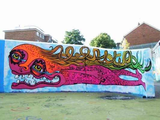 Flyin, Stockwell Park Estate, London, 2010