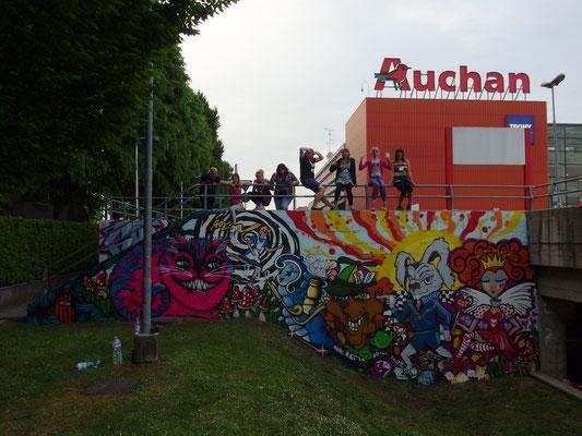 GOT Crew, Alice in Wonderland, Milan, Italy, 2014
