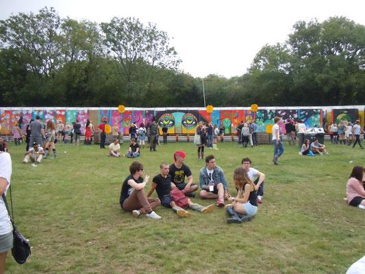 Bestival toilet beastie, Bestival Festival, Isle Of Wight, 2011