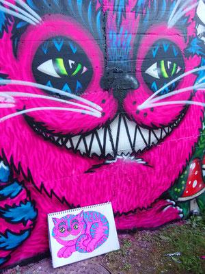 Cheshire Cat, Milan, Italy, 2014