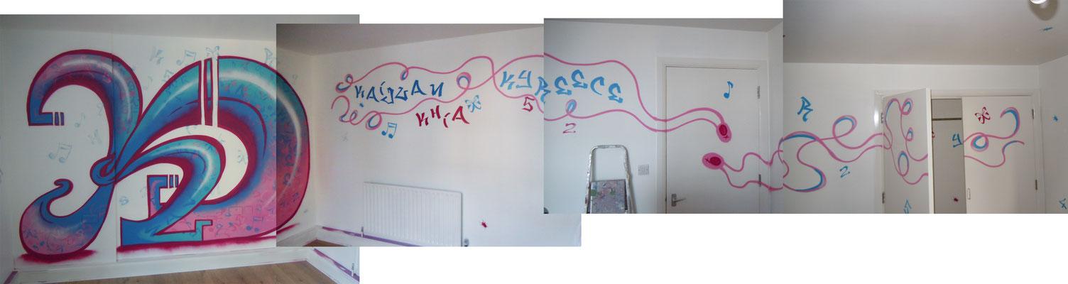 KD Kids Bedroom, Battersea, London 2011