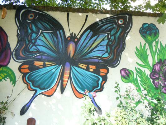 Butterfly, The Magic Garden, Battersea, London, 2010