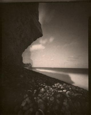 L'ombre mystérieuse, Etretat 2012 © Annick Maroussy Amy