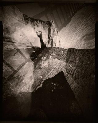 Echelle de bordée, Manneporte, 2012 © Annick Maroussy Amy