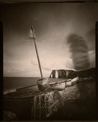 Tornade à la plage, Etretat 2012 © Annick Maroussy Amy