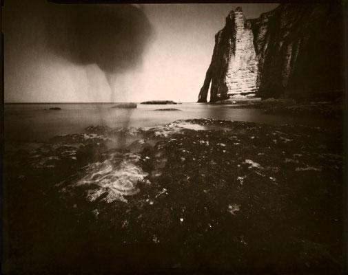 Étretat, Vapeur de mer ou le fantôme d'Arsène Lupin, 2013 © Annick Maroussy Amy