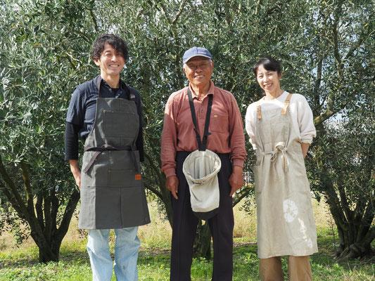 オリーブ農家さんとカーゴシップ