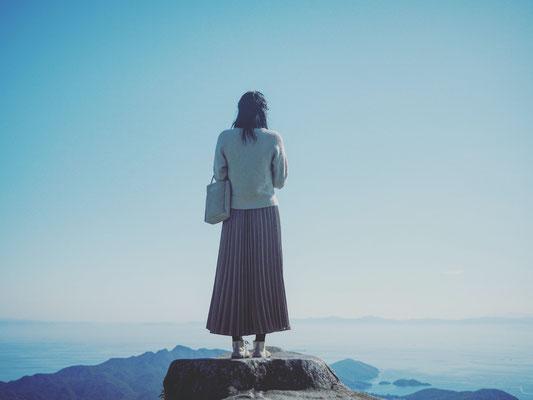 小豆島の空と海