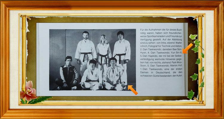 Großmeister Yun Sin-Ill auf einem Foto mit dem dem Autor Großmeister Konstantin Gil