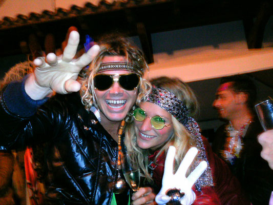 Janni and Tom during Carneval