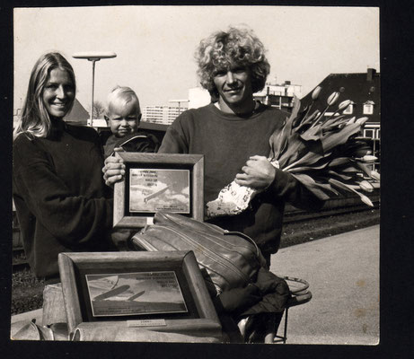 back from Hawaii on Sylt around 1979