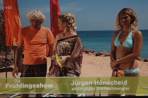 Janni and Jürgen in ZDF TV show
