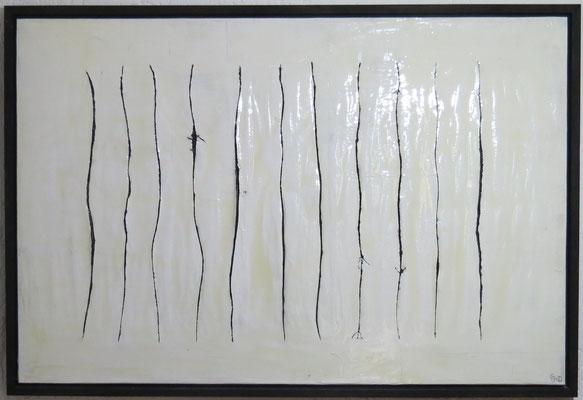 Haarspalterei in schwarz