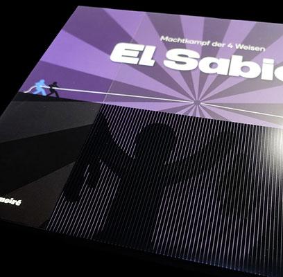 © play!moiré – El Sabio: Moiré-Effekt Schuber