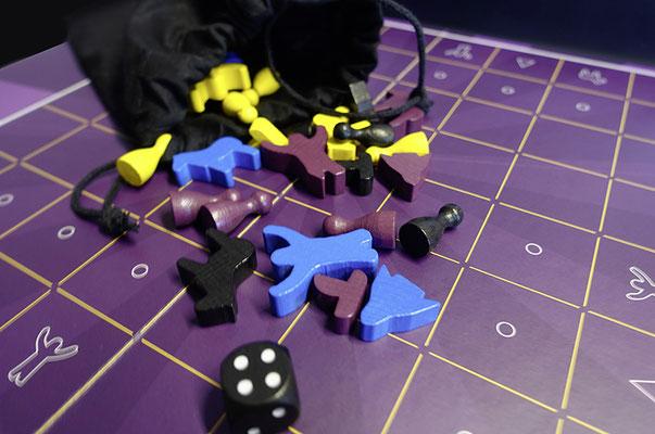 © play!moiré – El Sabio: Spielfiguren