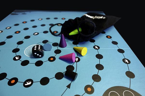© play!moiré – Cheeky Hyena: Spielfiguren