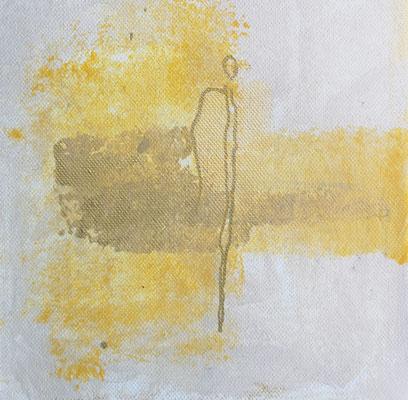 Serie Engel  I  Mischtechnik  I  20cm x20 cm