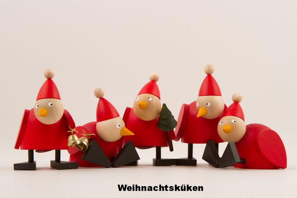 Weihnachtshühner